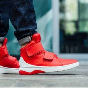 Mens Nike Red High Top Sneakers Marxman
